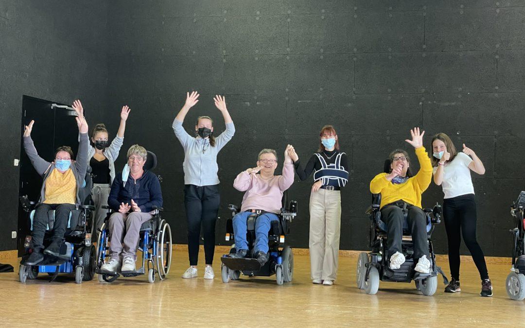 EIE – Danse en fauteuil